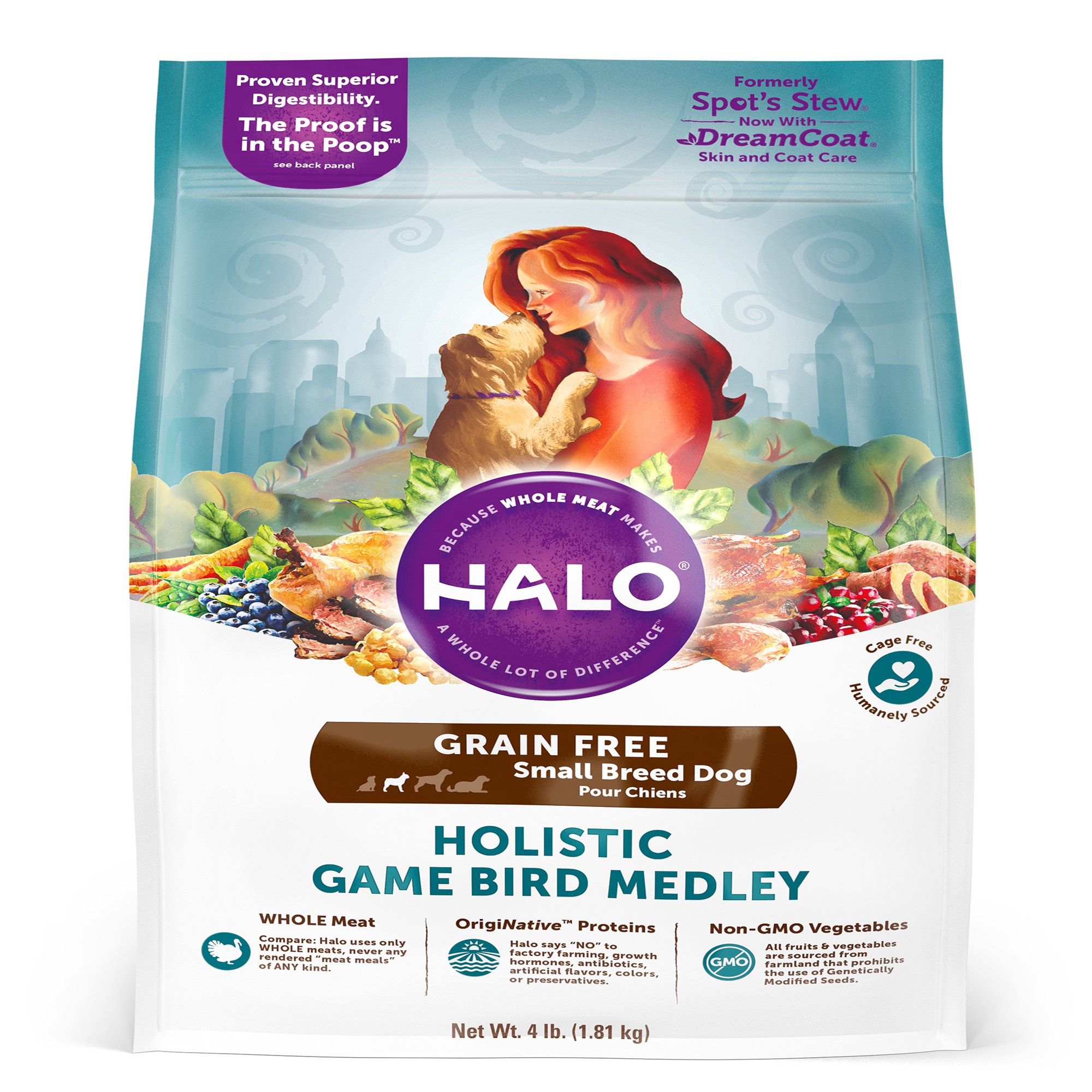 Halo Toy Breed Dog Food