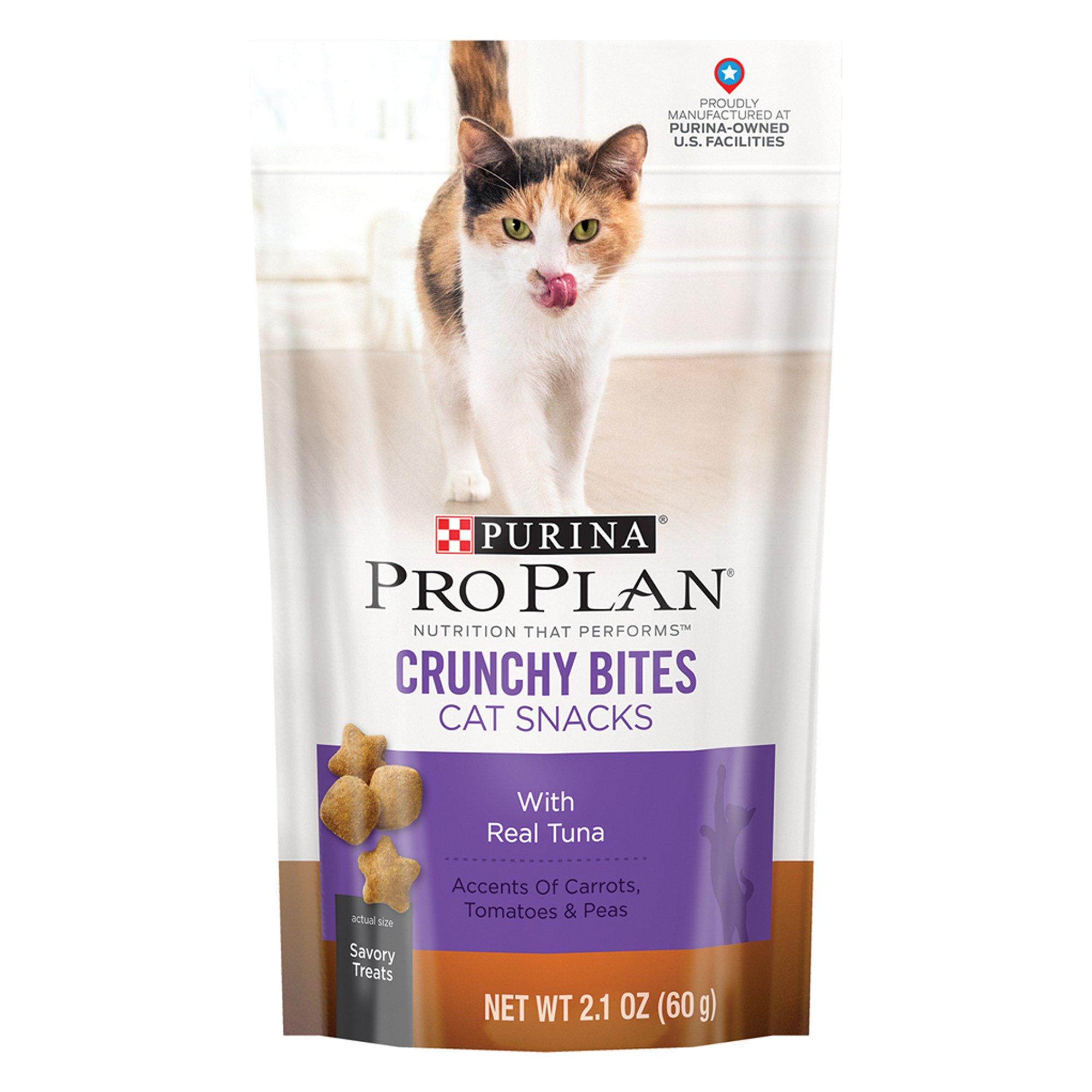 Pro Plan Savory Bites Crunchy Tuna Cat Treats