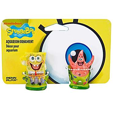Penn Plax SpongeBob & Patrick Aquarium Ornament