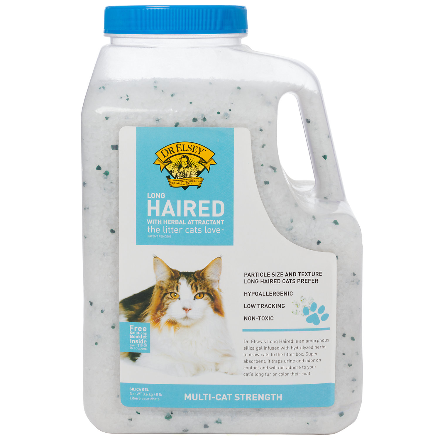 Precious Cat Dr. Elseys Long Haired Cat Litter 8 Lbs.