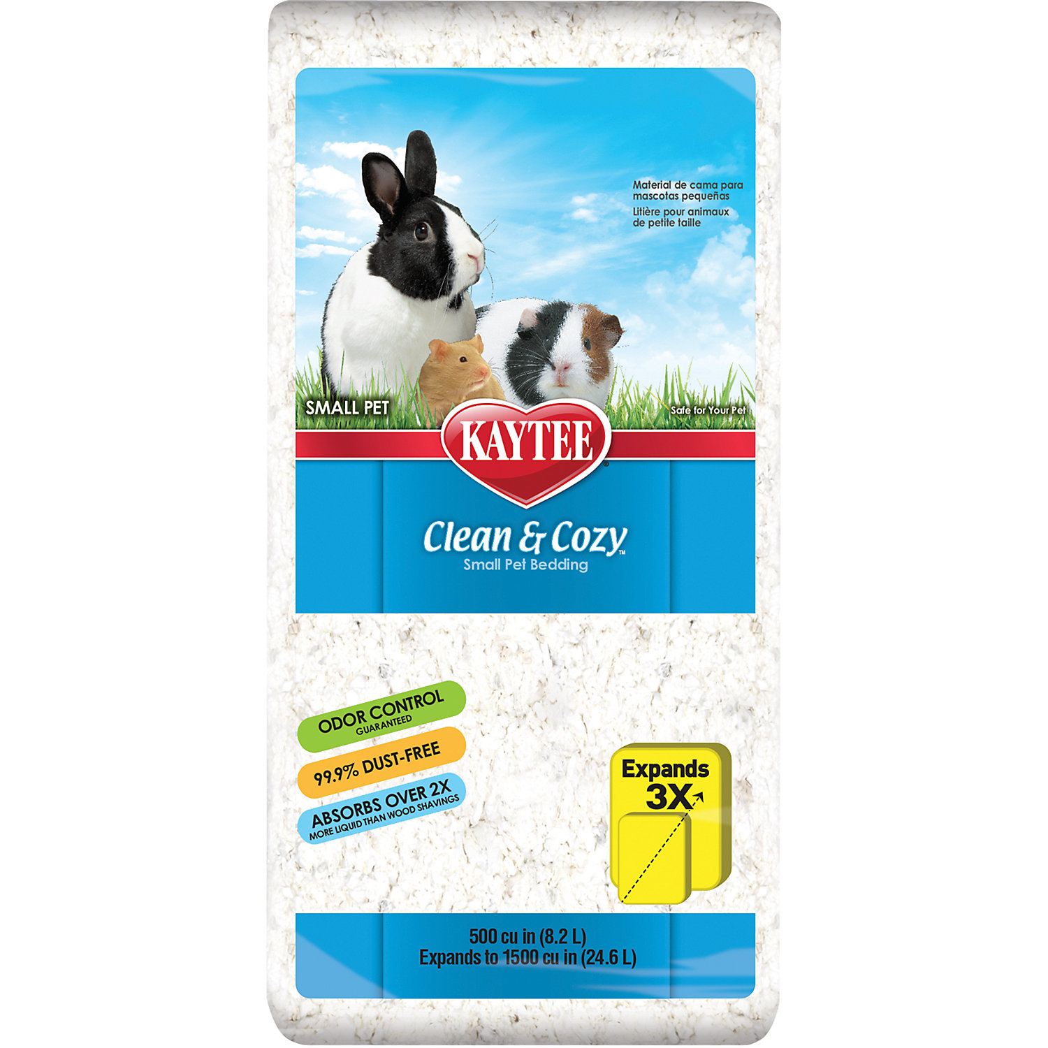 Kaytee Clean Cozy Small Animal Bedding 500 Cu. In.