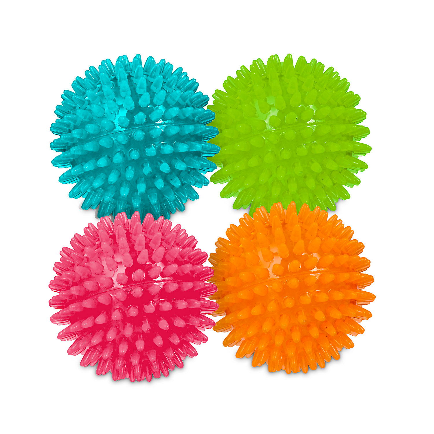 Squeaky Dog Toy Round Ball Animal
