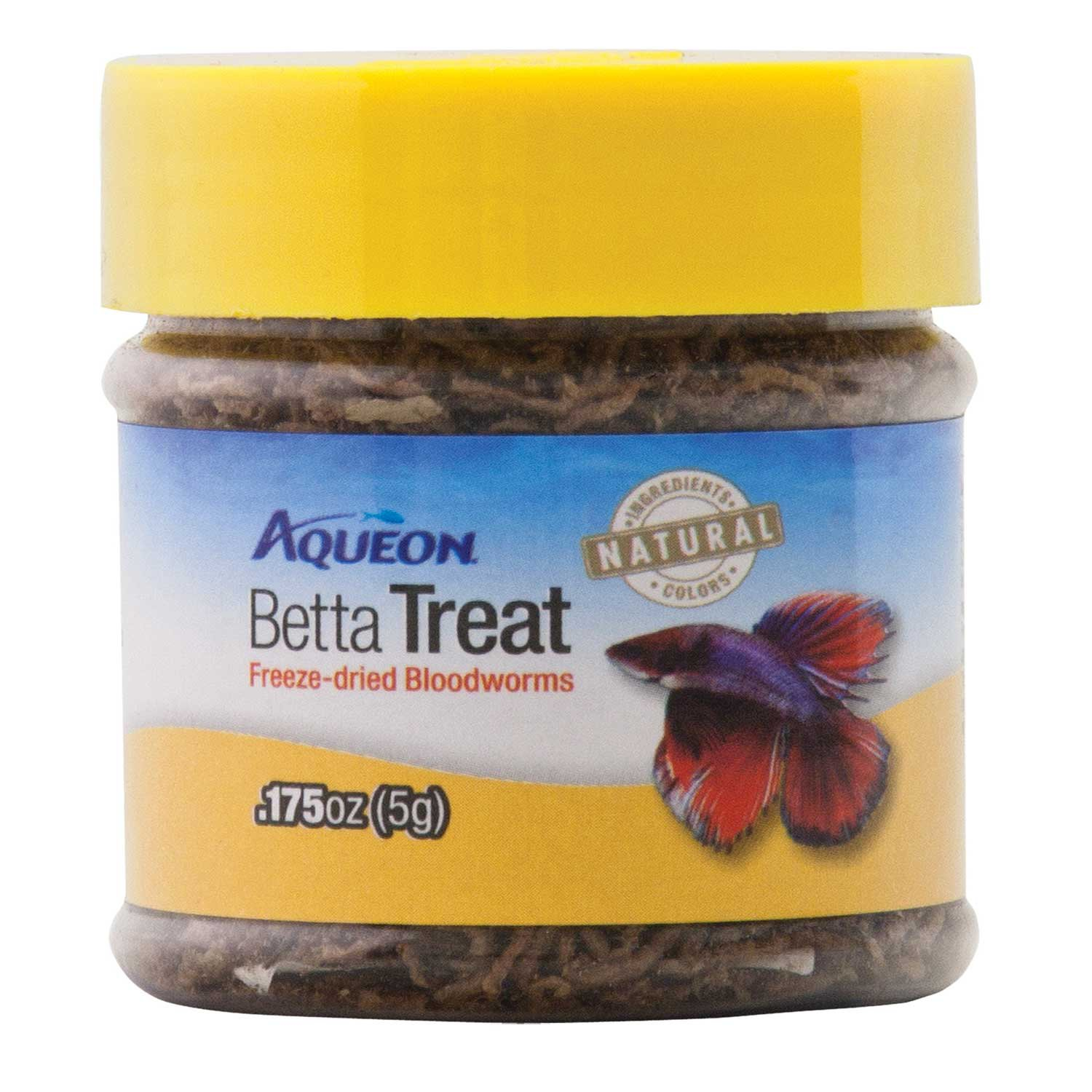 aqueon betta treat freeze dried blood worms petco