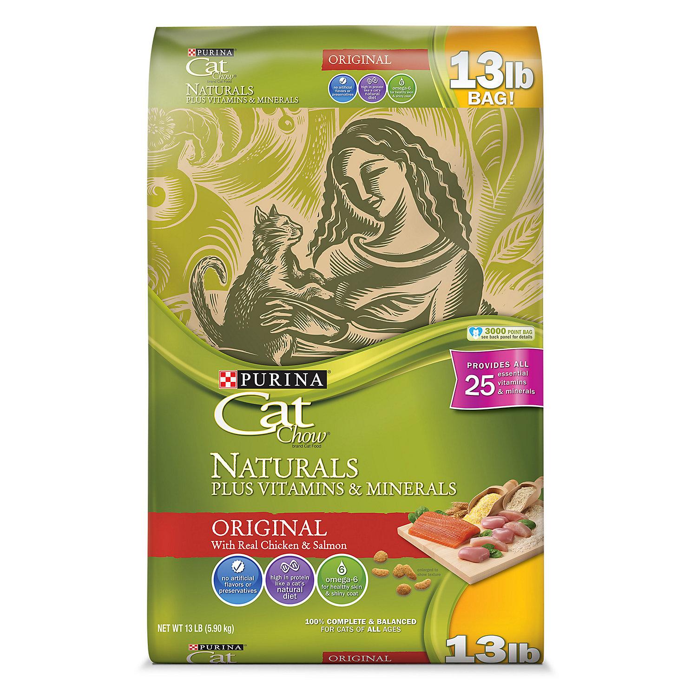 Purina Naturals Cat Chow Adult Cat Food, 13 lbs.