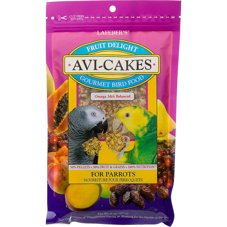 Lafebers Fruit Delight Avi Cakes For Parrots