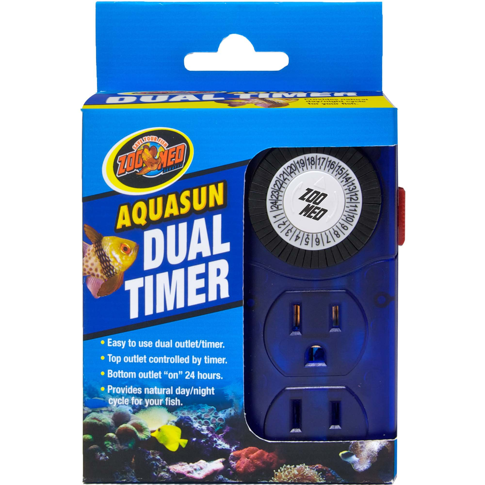 Fish tank light timer - Zoo Med Aquasun Dual Aquarium Timer