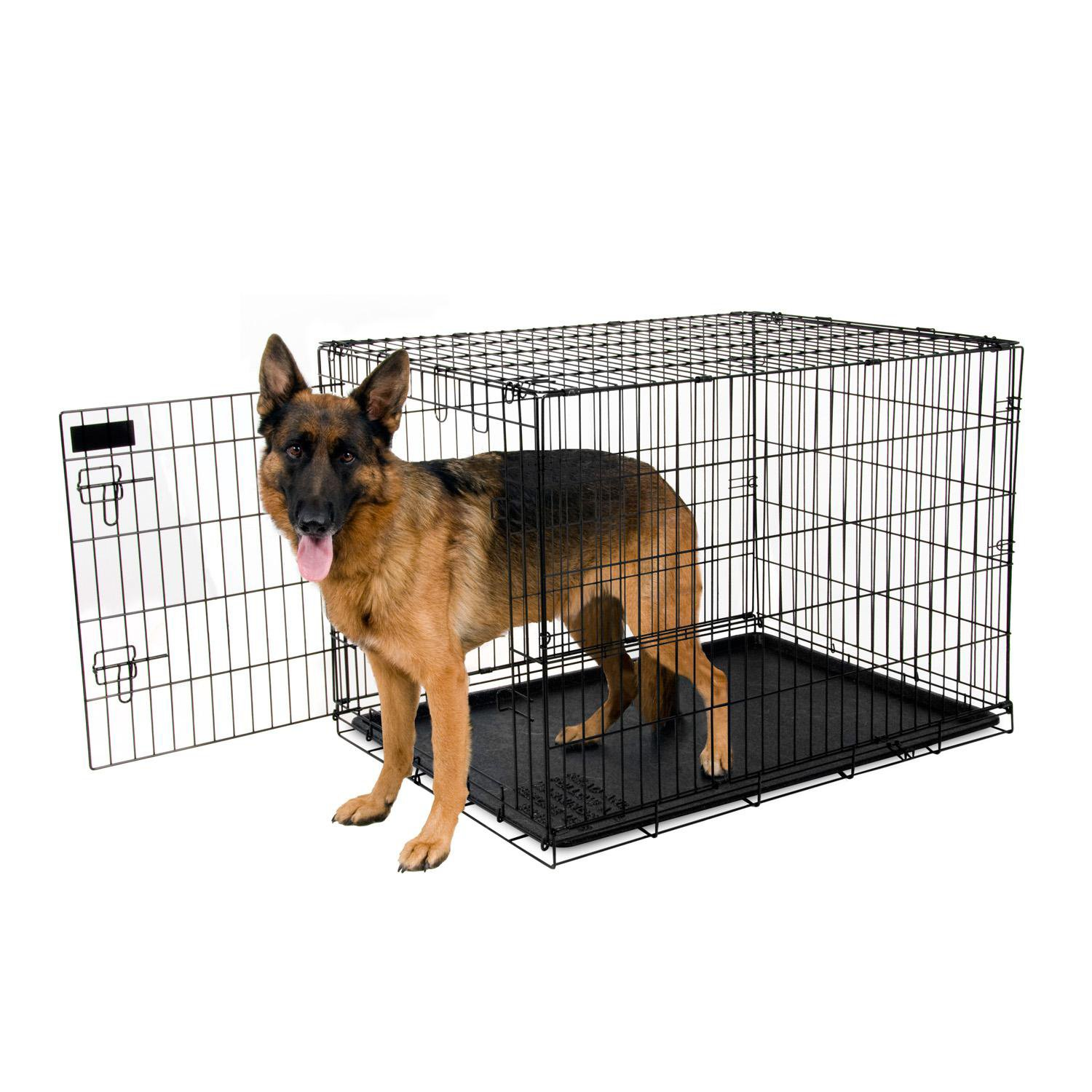Petmate Training Retreat Wire Dog Kennel in Black | Petco