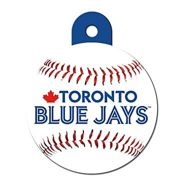 Quick-Tag Toronto Blue Jays MLB Personalized Engraved Pet ID Tag, Large