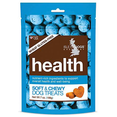 Isle of Dogs Natural Health Soft Dog Treats