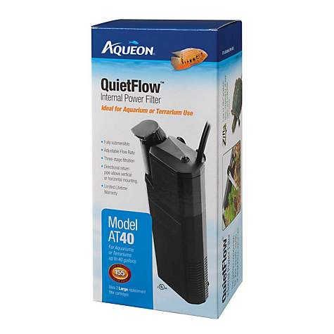 Aqueon QuietFlow 40 Internal Power Filter
