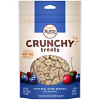 NUTRO Crunchy Treats With Real Mixed Berries Treats for Dogs