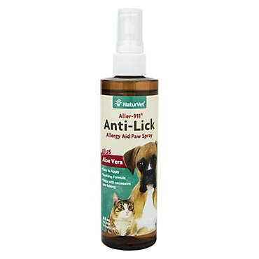 NaturVet Aller-911 Anti-Lick Paw Spray
