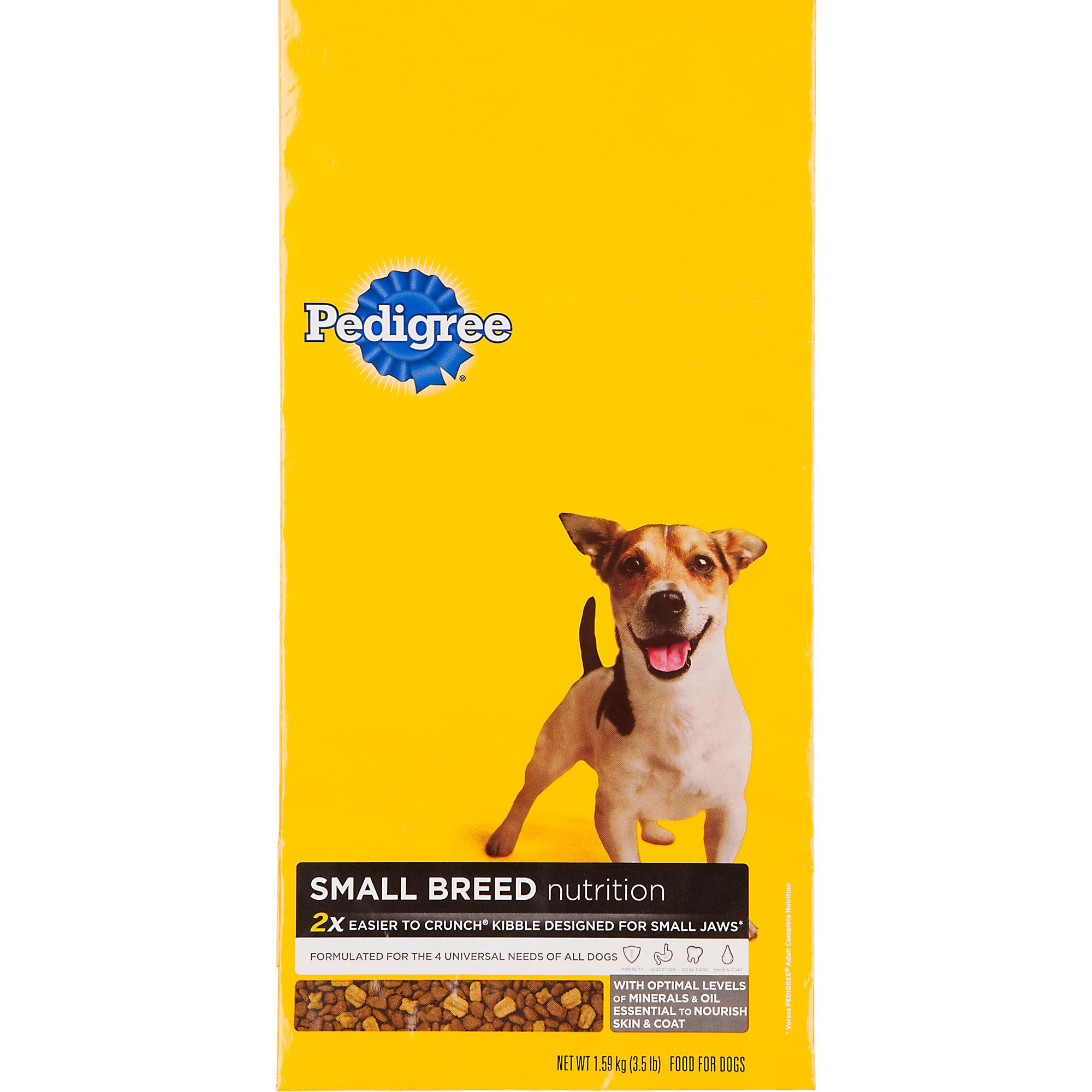 Pedigree Small Breed Adult Dog Food, 3.5 lbs.