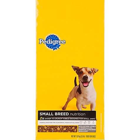 Pedigree Small Breed Adult Dog Food Petco