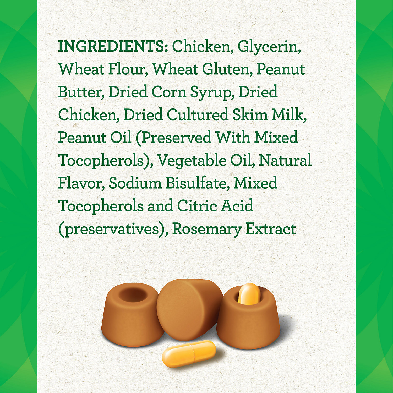 Greenies Pill Pockets Peanut Butter Capsule Dog Treats, 7.9 oz. ()