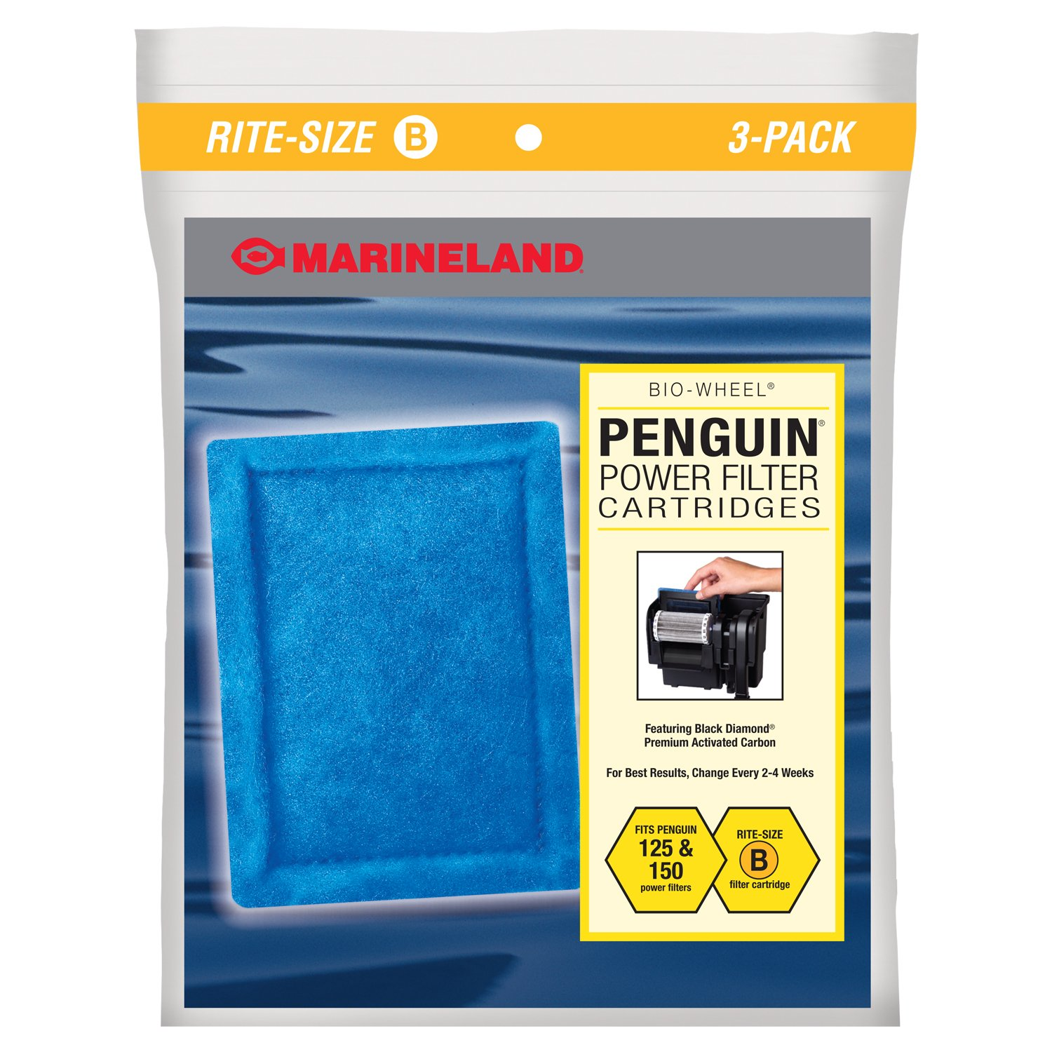 Marineland Rite-Size Bonded Filter Sleeve Three-Pack for ...