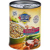 Nature's Recipe Healthy Skin Homestyle Ground Adult Canned Dog Food