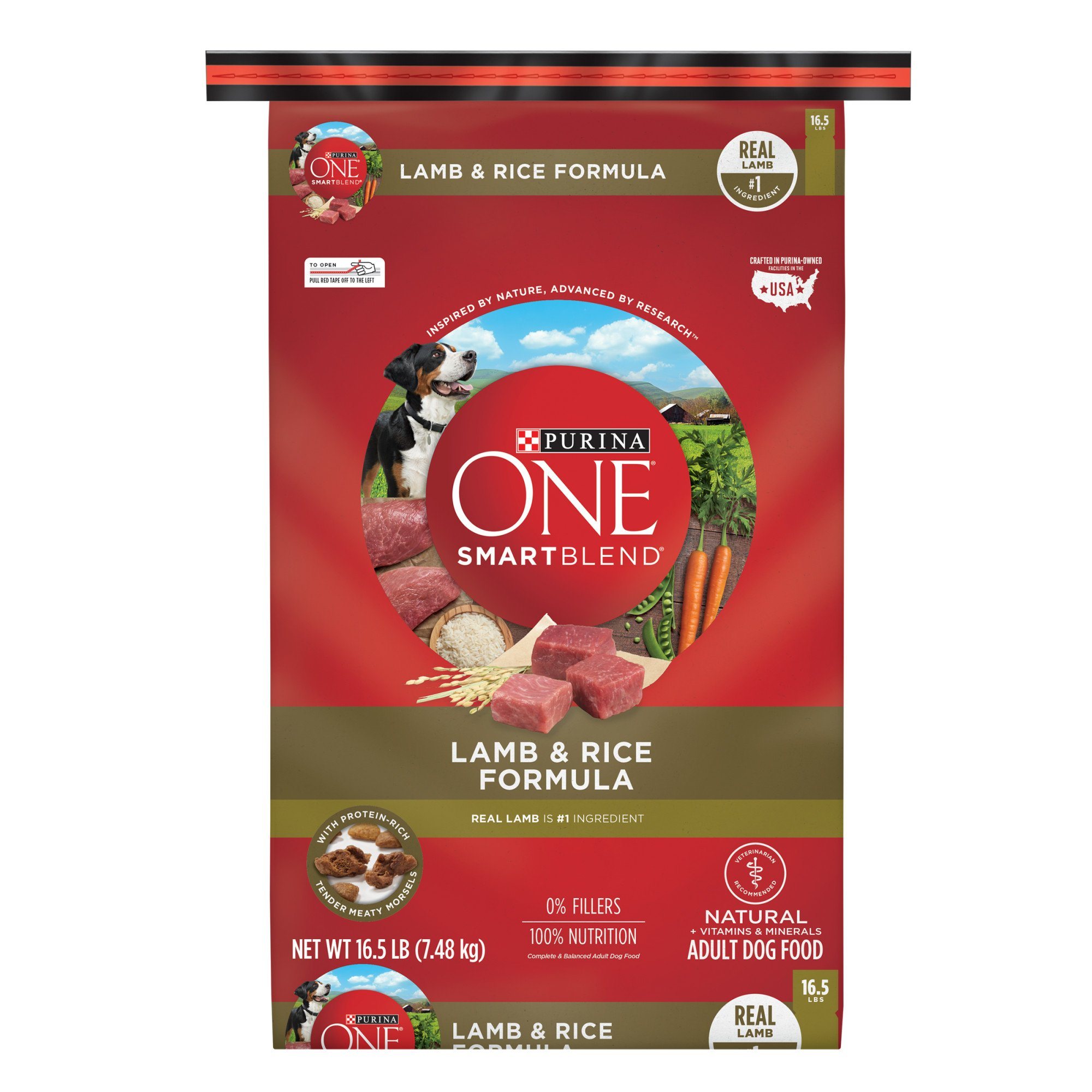 Purina ONE SmartBlend Lamb & Rice Formula Adult Premium