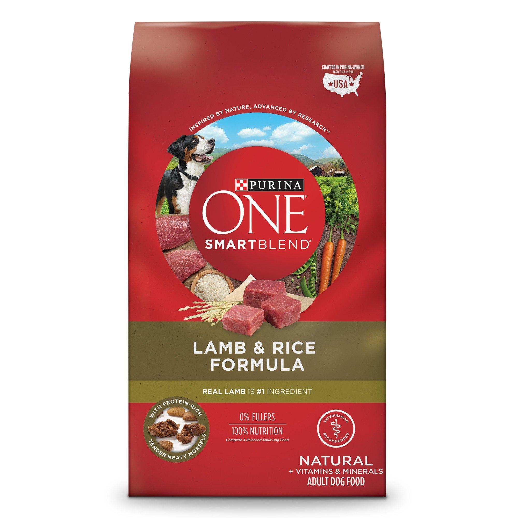Purina One Smartblend Lamb Amp Rice Formula Dog Food Petco