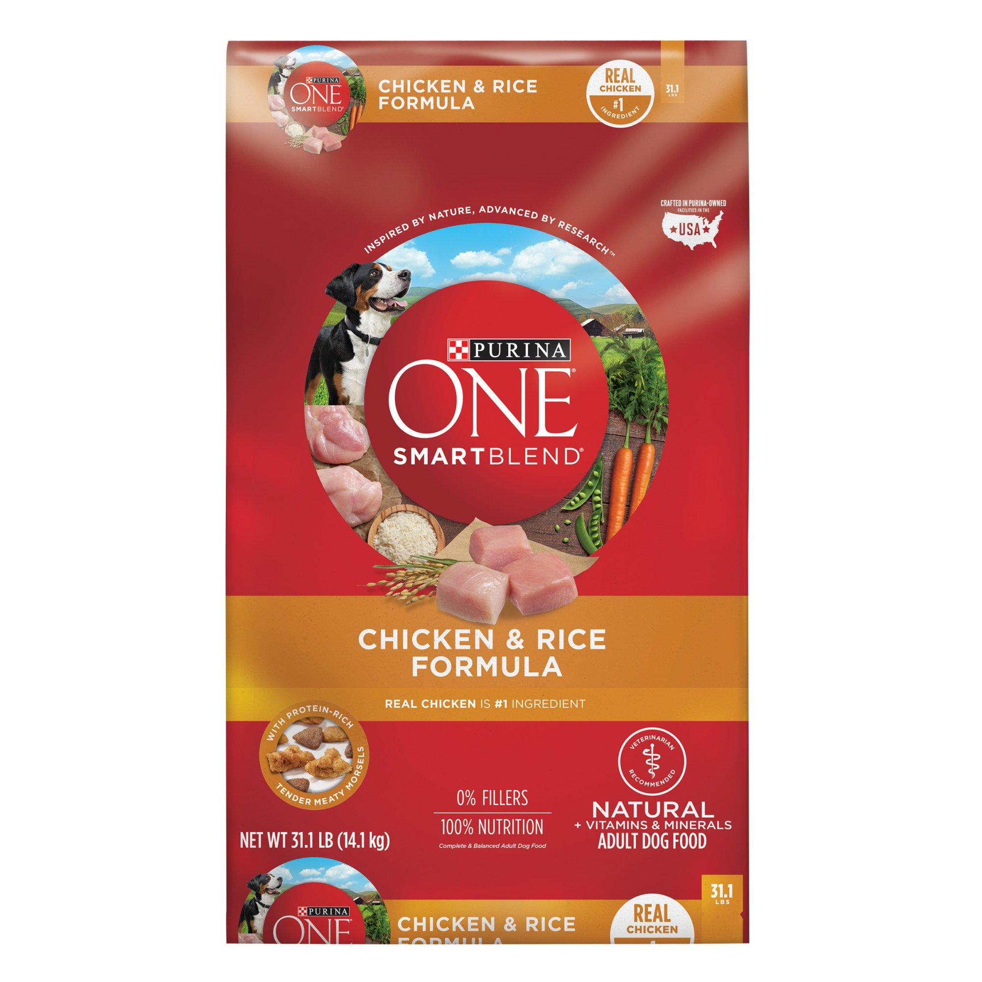Purina One Smartblend Chicken Amp Rice Formula Dog Food Petco