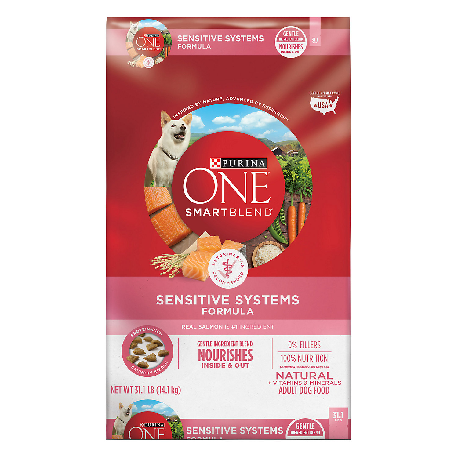 Purina One Sensitive Systems Adult Dog Food 31.1 Lbs.