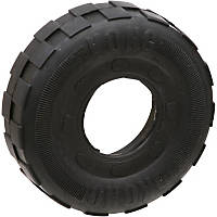 KONG Large Traxx Tire Dog Toy, 4.5' Diameter