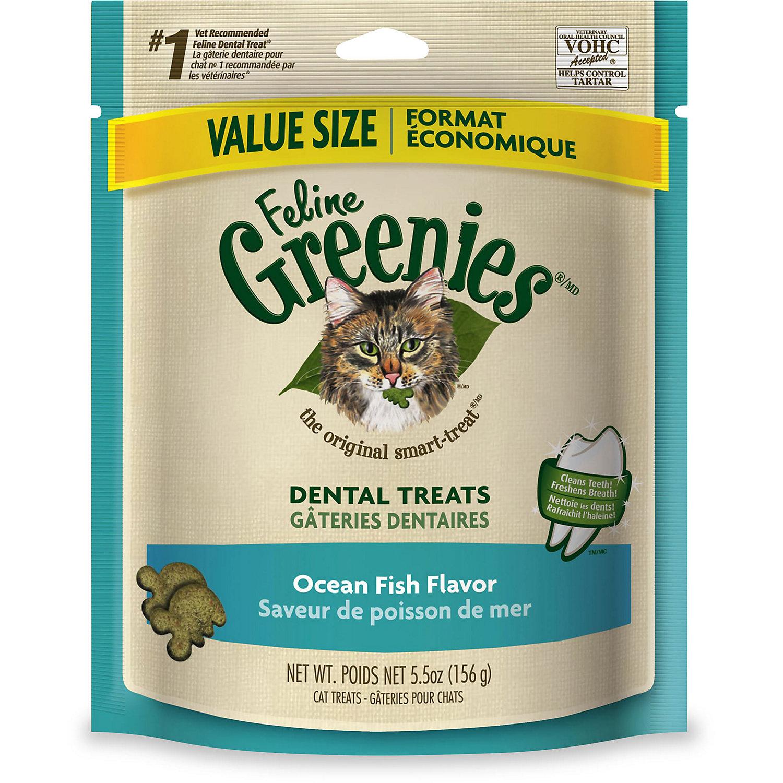 Feline Greenies Ocean Fish Flavor 5.5 Oz.