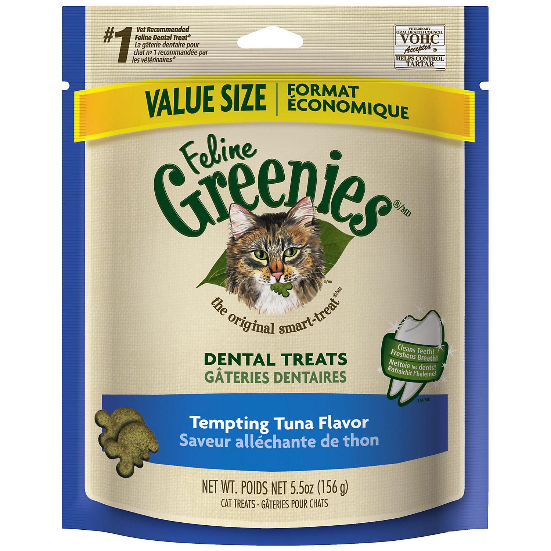 Feline Greenies Tempting Tuna Flavor 5.5 Oz.