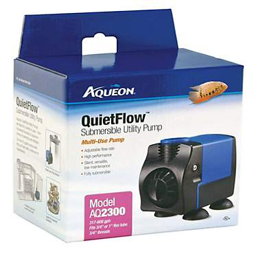 Aqueon QuietFlow 2300 Submersible Utility Pump