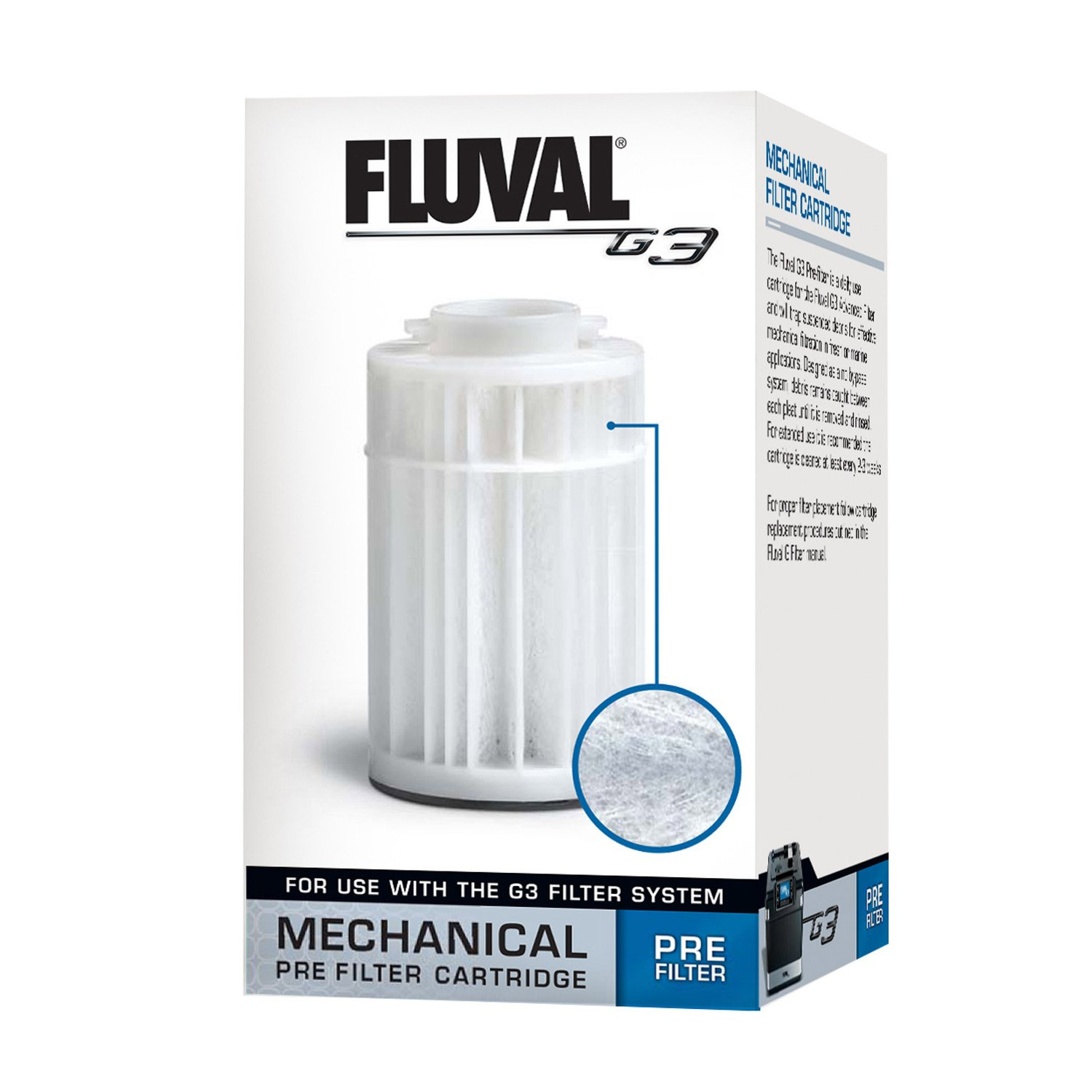 Fluval g3 pre filter cartridge petco for Petco fish tank filters