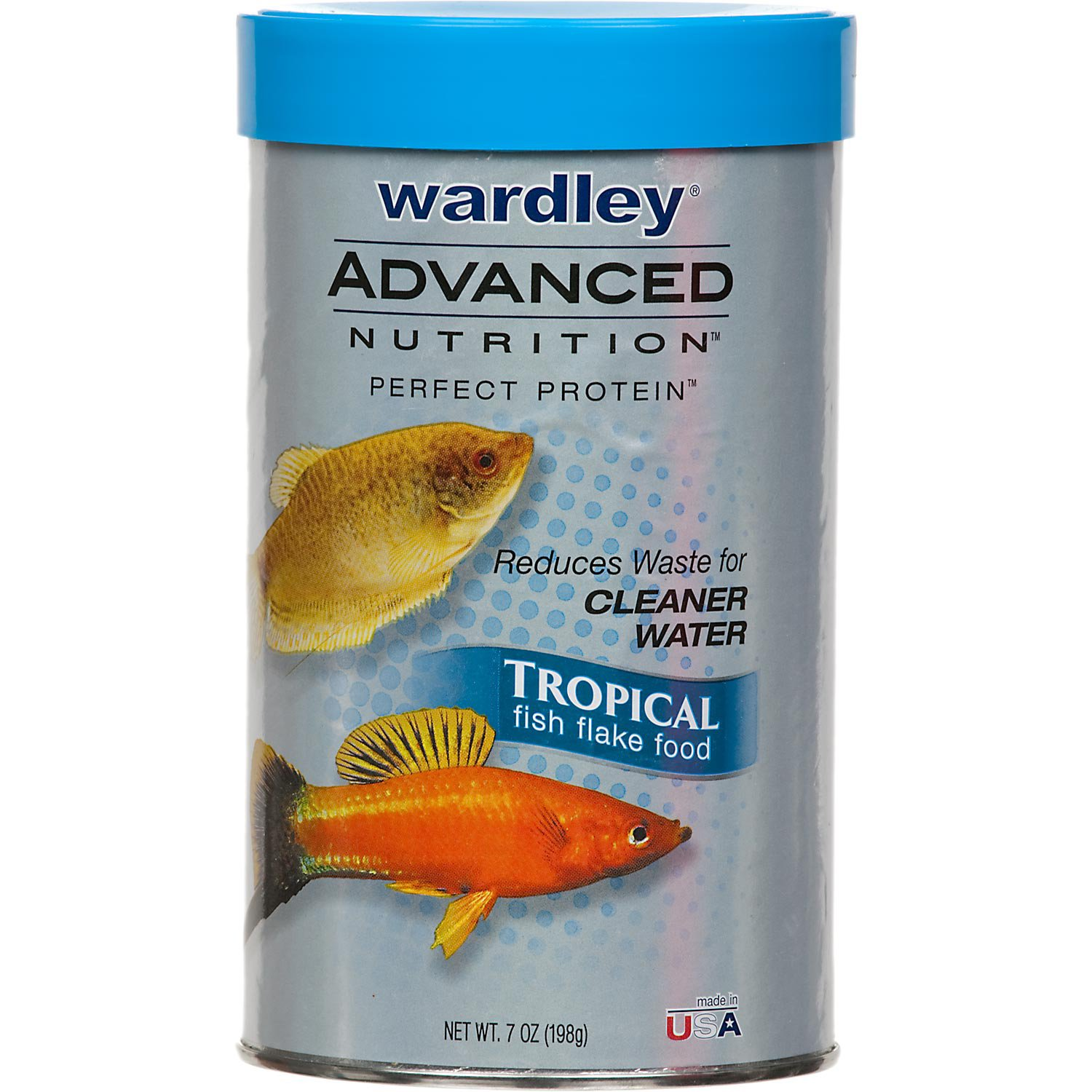 Freshwater fish nutrition - Wardley Advanced Nutrition Perfect Protein Tropical Fish Flake Food Petco