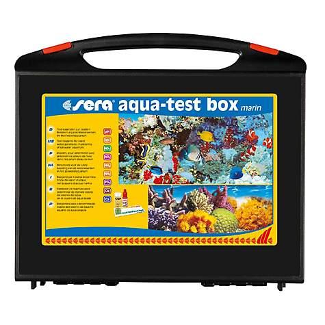 Sera aqua test box marin master test kit for saltwater for Petco saltwater fish