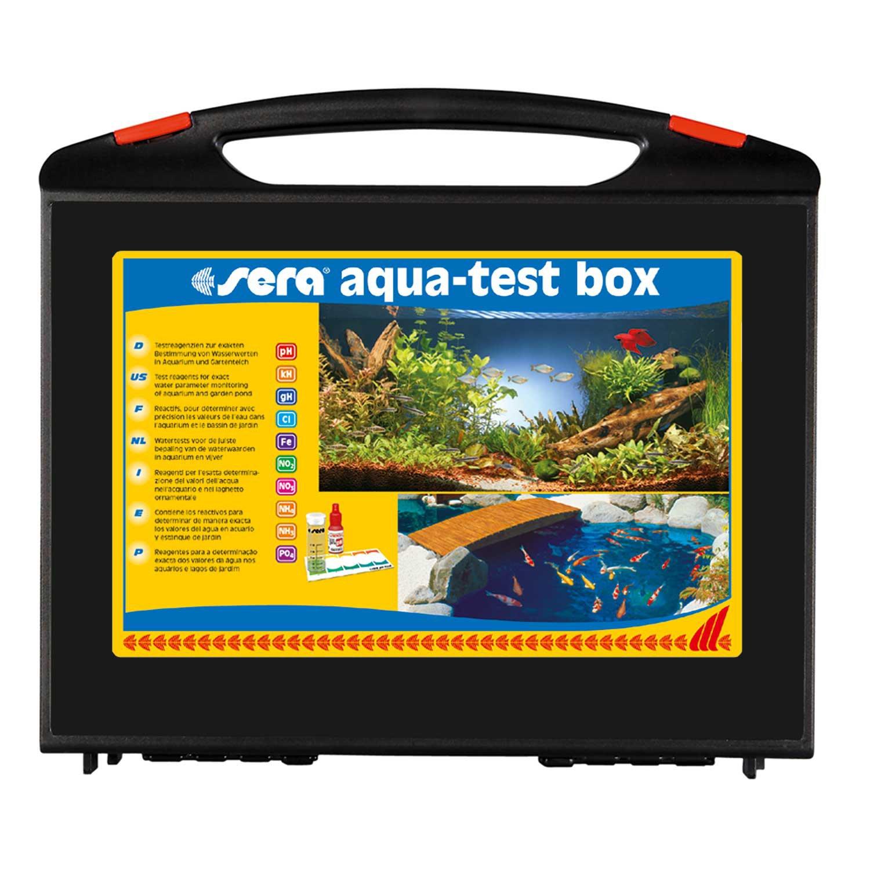 Fish tank test kit - Sera Aqua Test Box Freshwater Master Test Kit