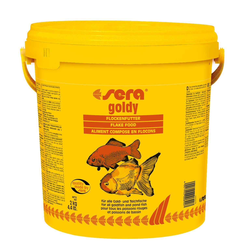 Sera goldy goldfish flakes petco for Feeder fish petco