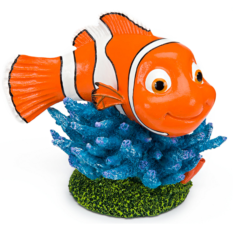 Penn Plax Finding Nemo Aquarium Ornament Mini Multi Color