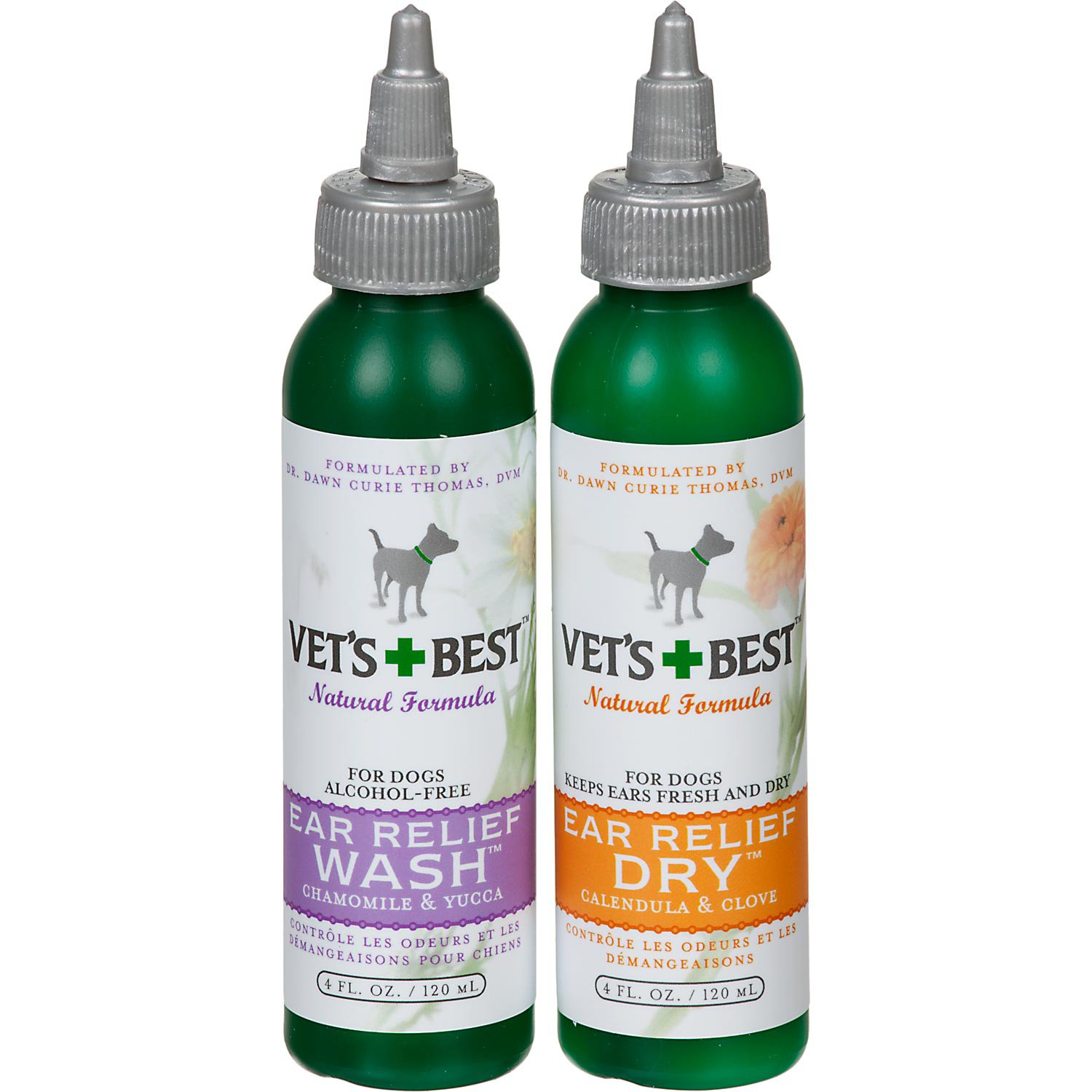 Vet S Best Ear Relief Wash Amp Dry For Dogs Petco