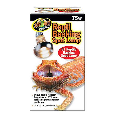 Zoo Med Repti Basking Spot Lamps 75 Watts Petco