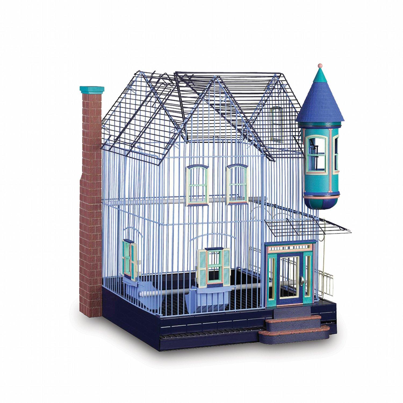 Prevue Hendryx FeatherStone Heights Victorian Bird Cage ...