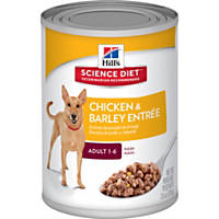 Hill's Science Diet Adult Chicken & Barley Canned Dog Food