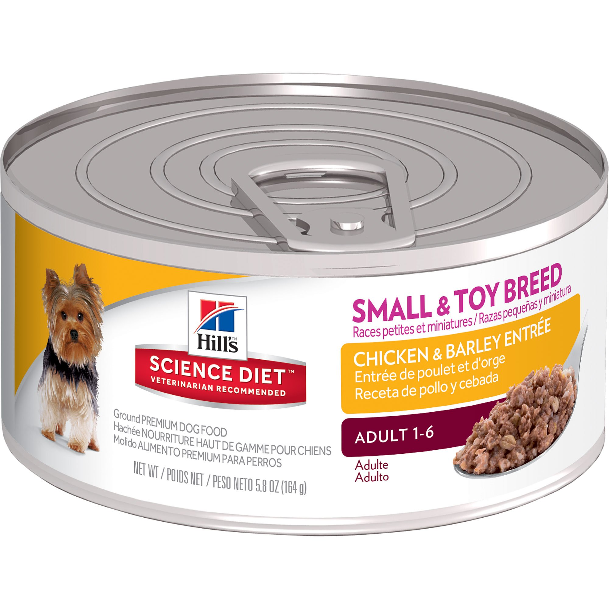 Small Toy Food : Hill s science diet adult small toy breed chicken