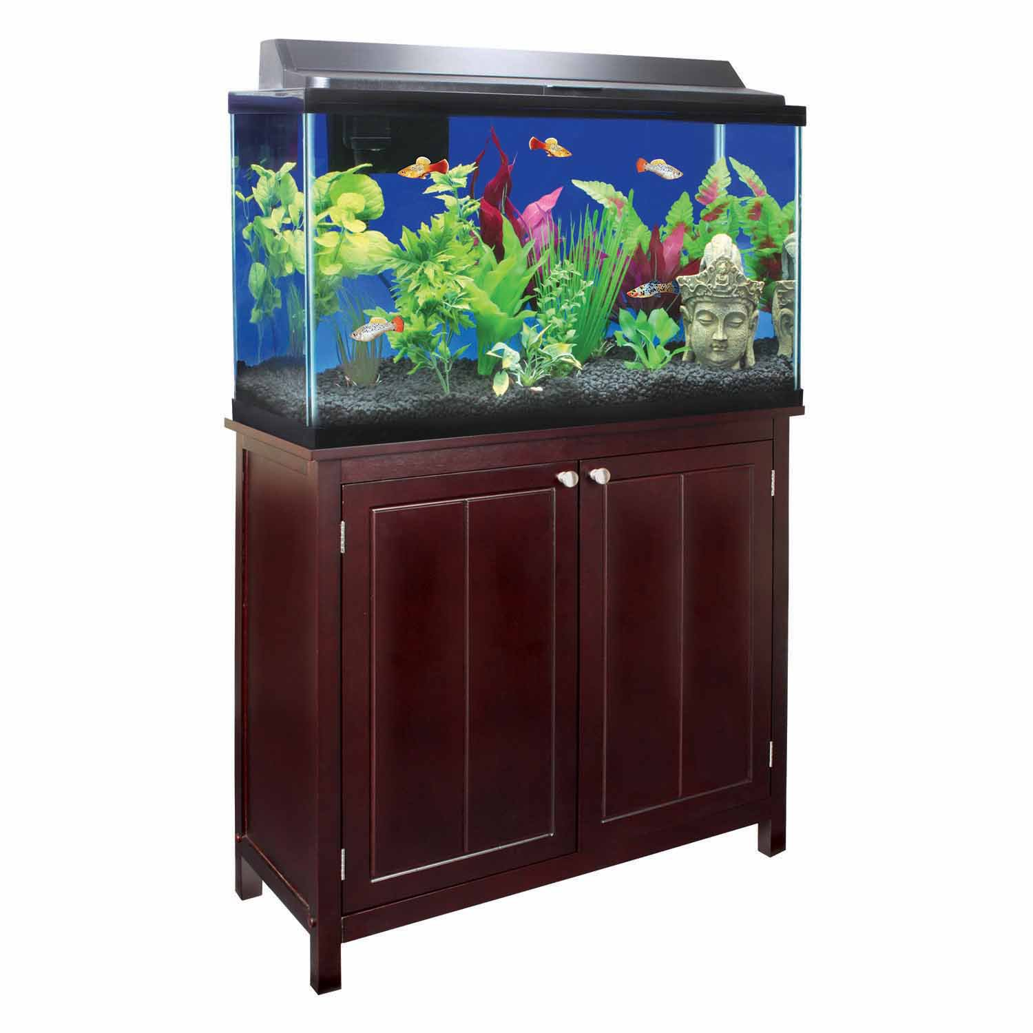 Imagitarium preferred winston tank stand 29 gallons petco for Fish tank table stand