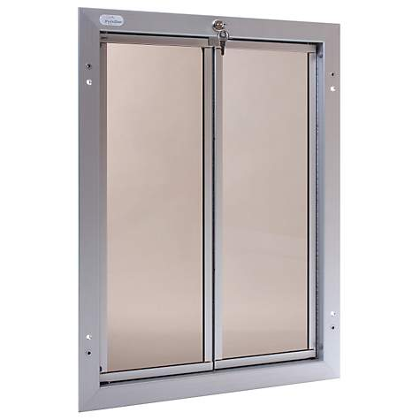 Plexidor Door Mount Pet Door In Silver