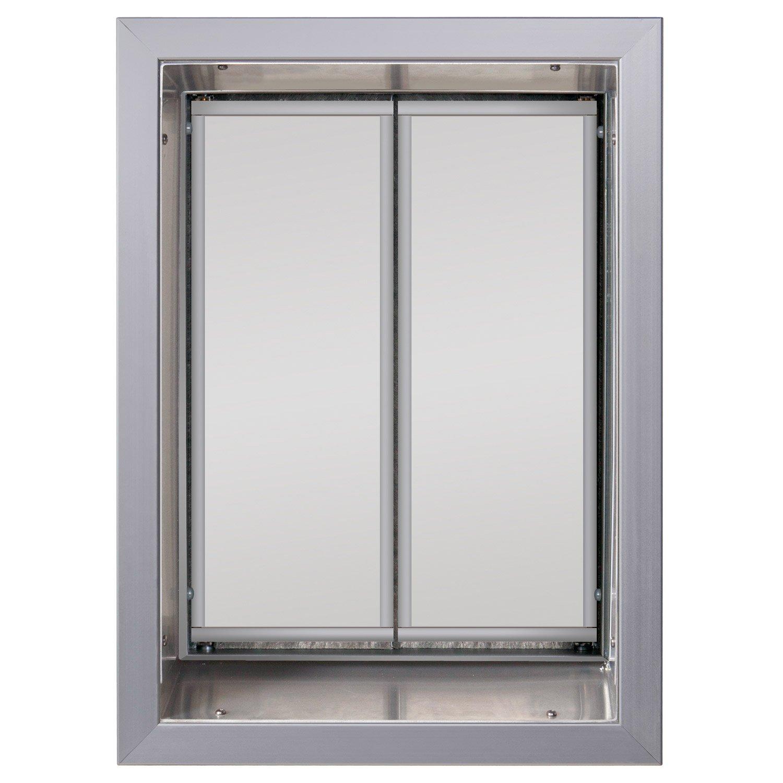 Plexidor Wall Mount Pet Door In Silver Petco