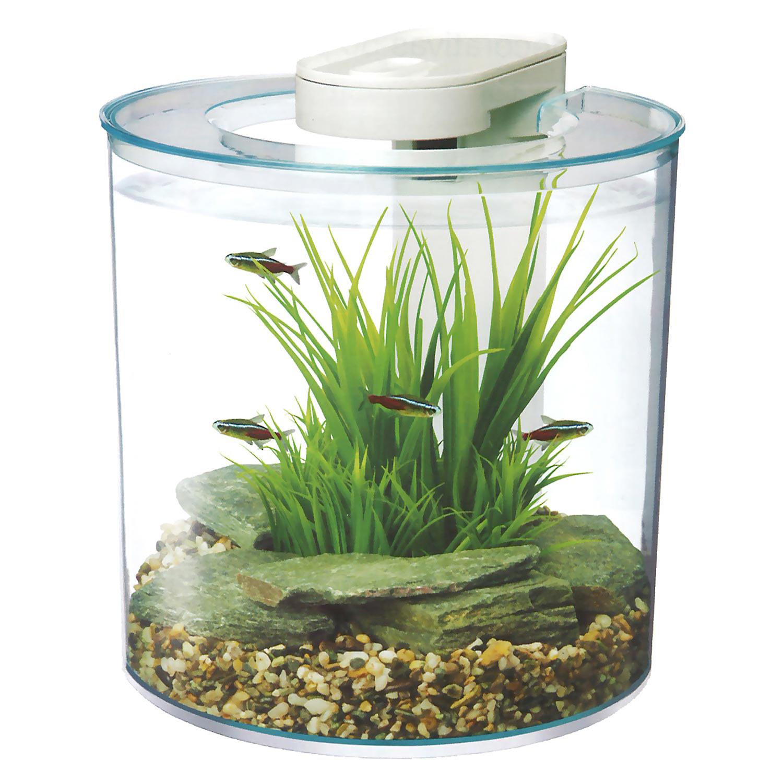 Upc 015561128506 marina 360 degree aquarium starter kit for Petco fish bowl