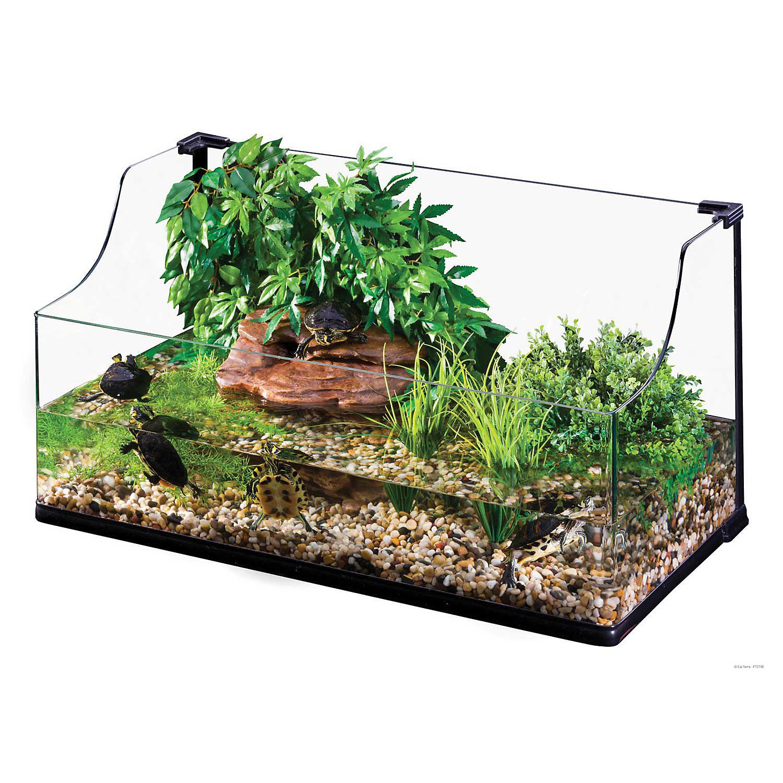 Exo Terra Bent Glass Turtle Terrarium Large