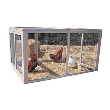 Precision Pet Extreme Hen House Pen in Taupe