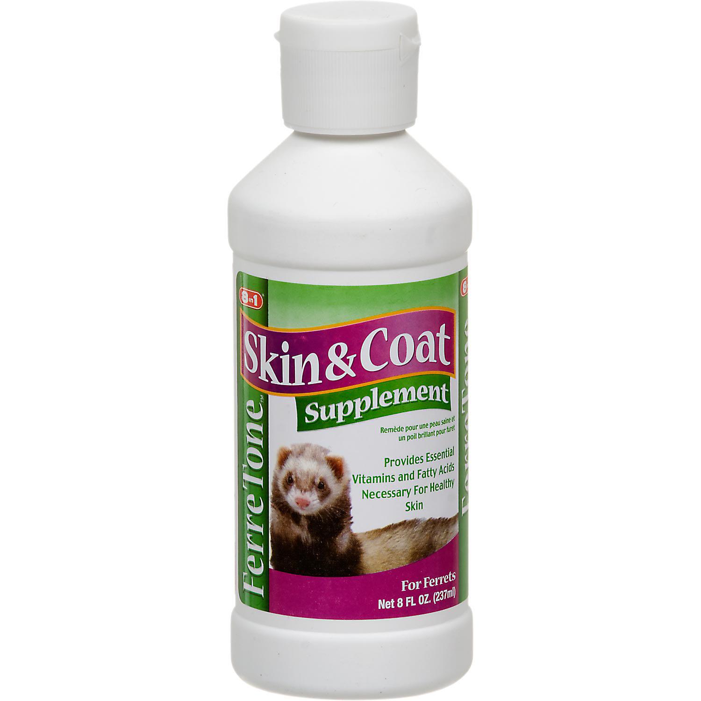 8 In 1 Ferretone Skin Coat Ferret Food Supplement 8 Oz.