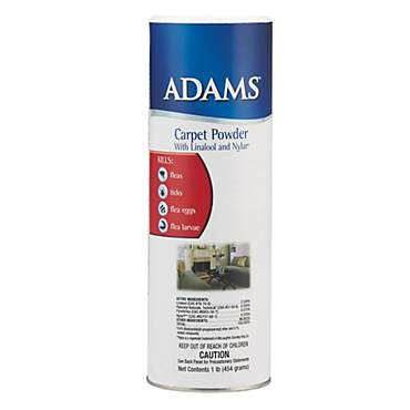 Adams Flea & Tick Carpet Powder