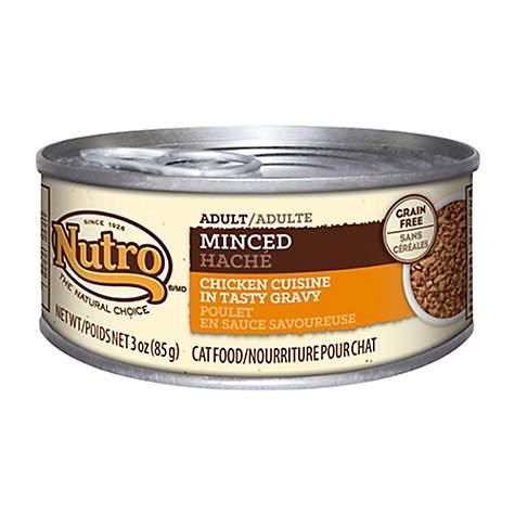 Nutro Wholesome Essentials Minced Chicken Cuisine In Tasty Gravy