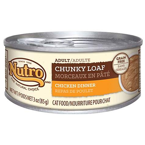 Nutro Wholesome Essentials Chunky Loaf Chicken Dinner Canned Adult
